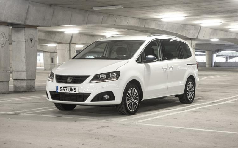 The SEAT Alhambra Is Awarded Four Stars In Safety Test