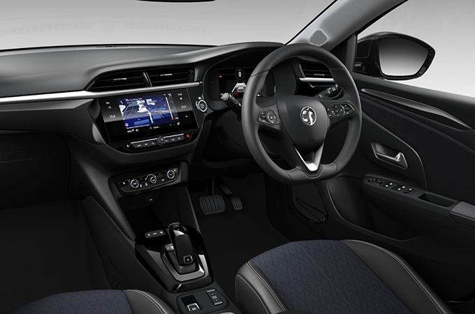New Corsa-e Interior