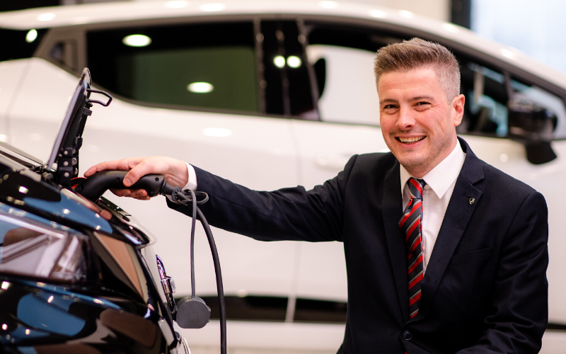 Electric Vehicle Accreditation For Bristol Street Motors Nissan Chesterfield