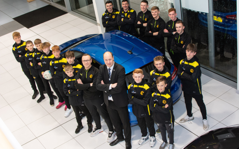Stourport Football Club Set To Soar Thanks To Bristol Street Motors Worcester