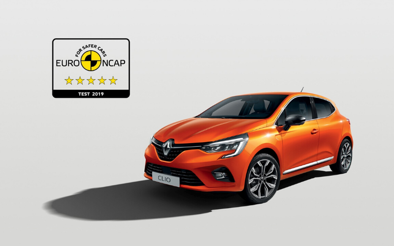 Renault Clio Receives Five Star Safety Rating