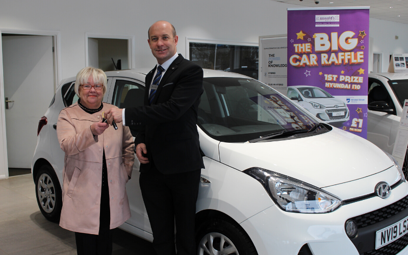 Pauline Has A White Christmas Thanks To St Oswald's And Bristol Street Motors