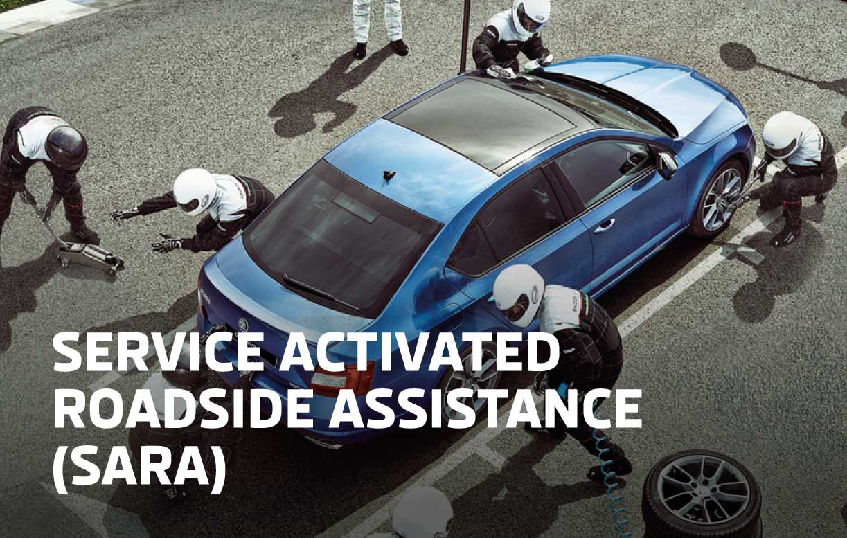 SKODA Activated Roadside Assistance
