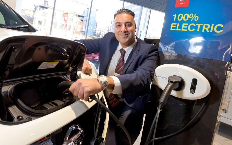 Electric Vehicle Accreditation For Bristol Street Motors Nissan Bradford