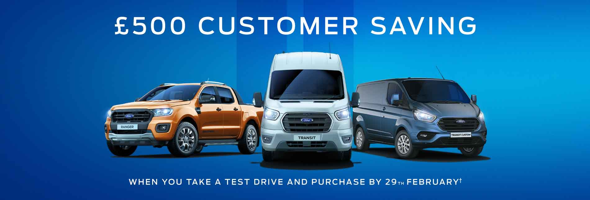 Ford Vans Test Drive Event