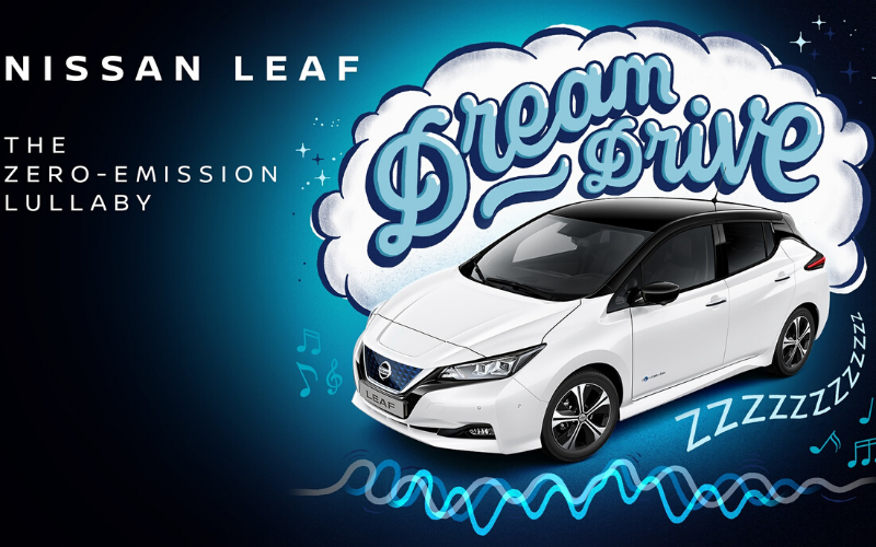 Nissan Create Lullaby To Help Send Children To Sleep In The Electric Leaf