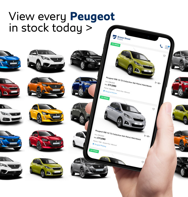 Peugeot New Cars in Stock