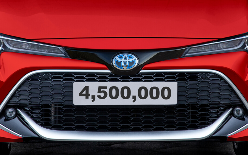 Toyota Celebrates Production Of 4.5 Millionth British-Built Car