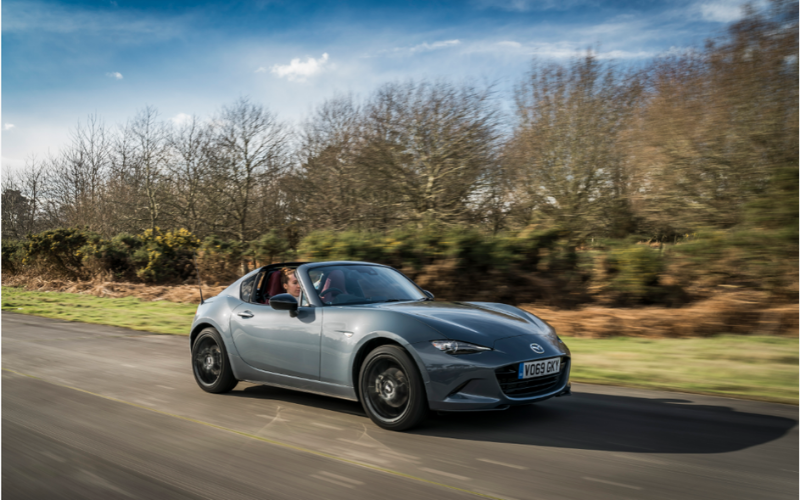 Mazda MX-5 RF is Named Most Fun Car to Drive at 2020 AutoTrader New Car Awards