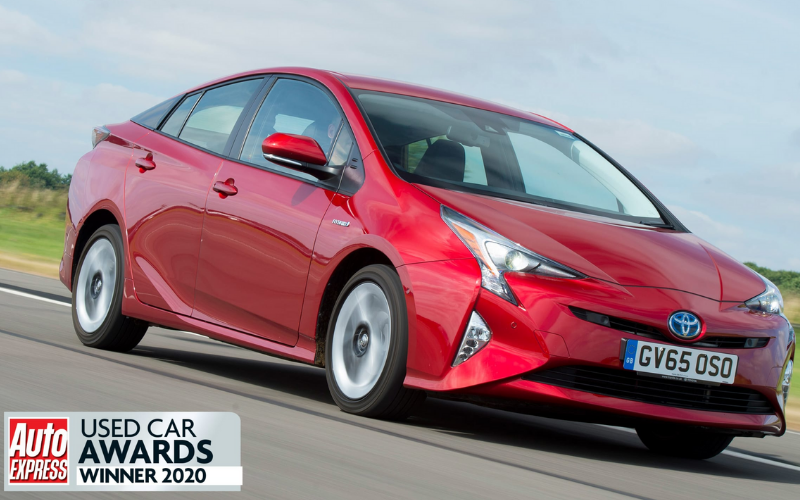 The Toyota Prius Is Named Best Used Hybrid Car At Auto Express Used Car Awards
