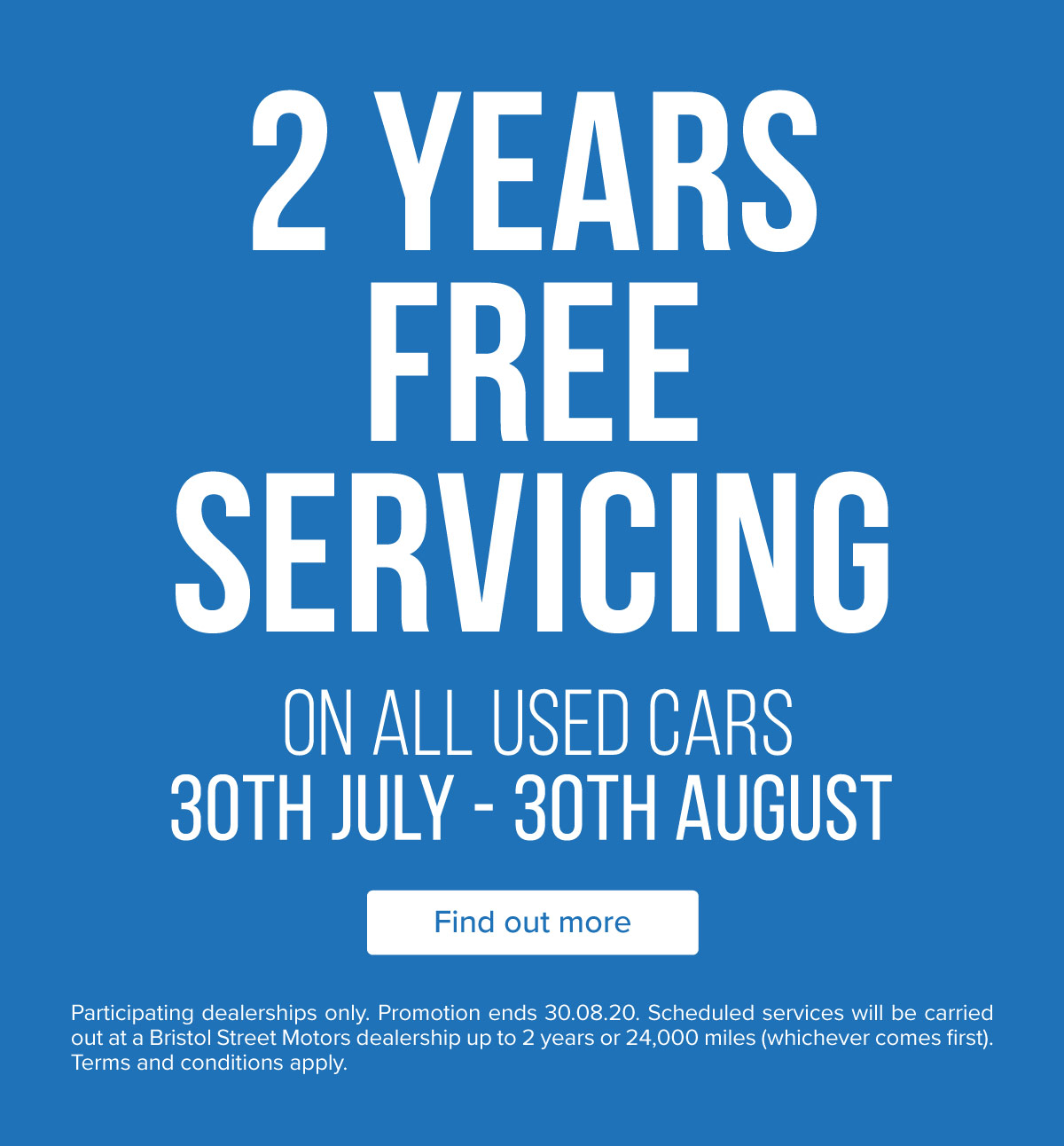 BSM 2 Years Free Servicing 300720