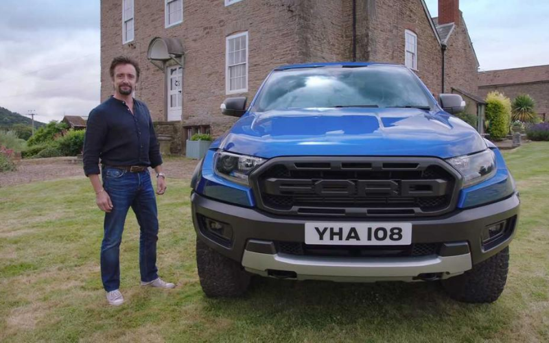 Richard Hammond's Mid-Life Crisis: The Ford Ranger Raptor as a Family Pick-Up