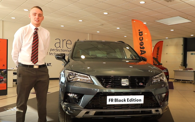 Taking a Closer Look at the SEAT Ateca FR Black Edition: A Video Tour