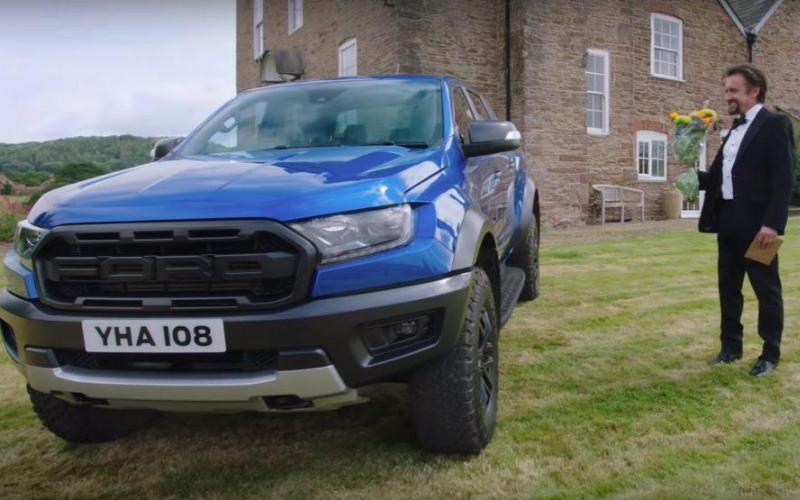Richard Hammond's Mid-Life Crisis: The Ford Ranger Raptor as a Luxury Pick-Up