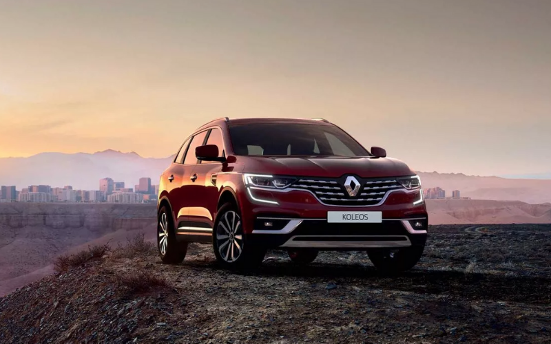 How is the Renault Koleos Designed for Adventure?