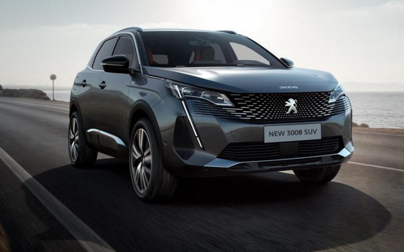 New Peugeot 3008 Boasts New Style and Tech Features