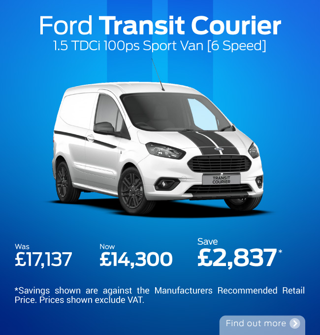 Ford Transit Courier 081020