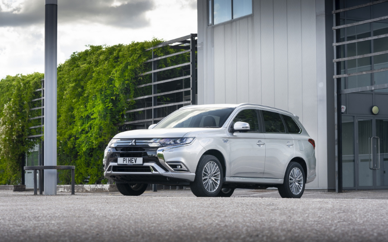 The Mitsubishi Outlander is the UK's Best-Selling PHEV SUV for 2020