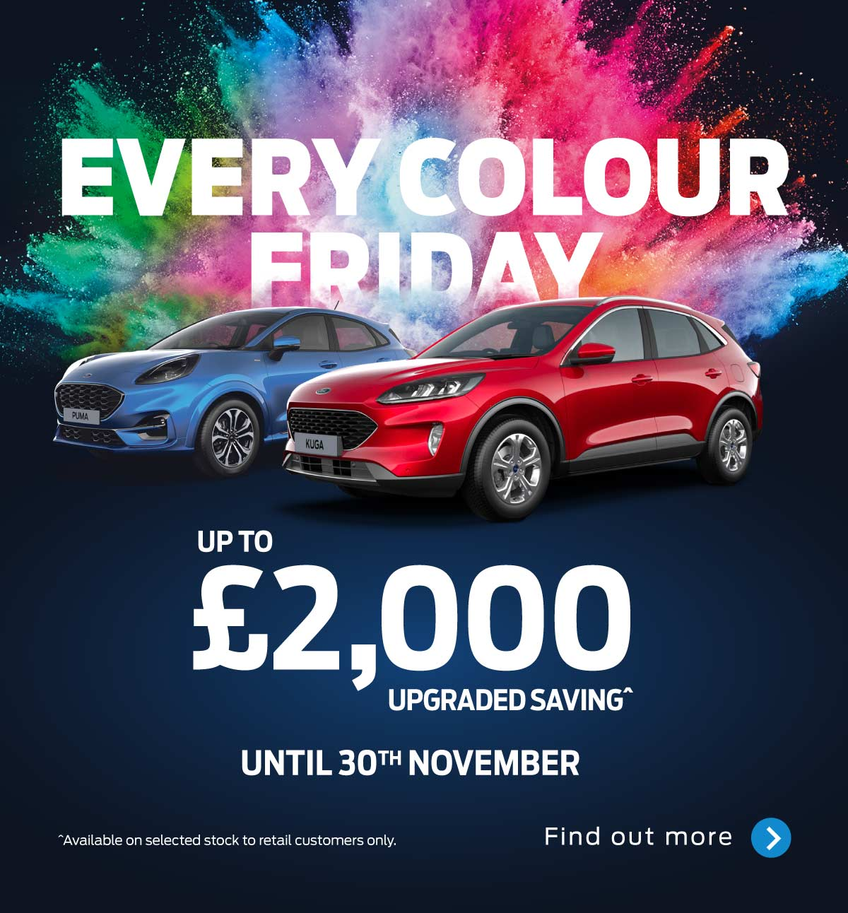 Ford Cars - Every Colour Friday