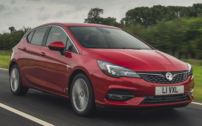 Vauxhall Astra Named 'Used Car of the Year' at Carbuyer Best Cars 2021 Awards