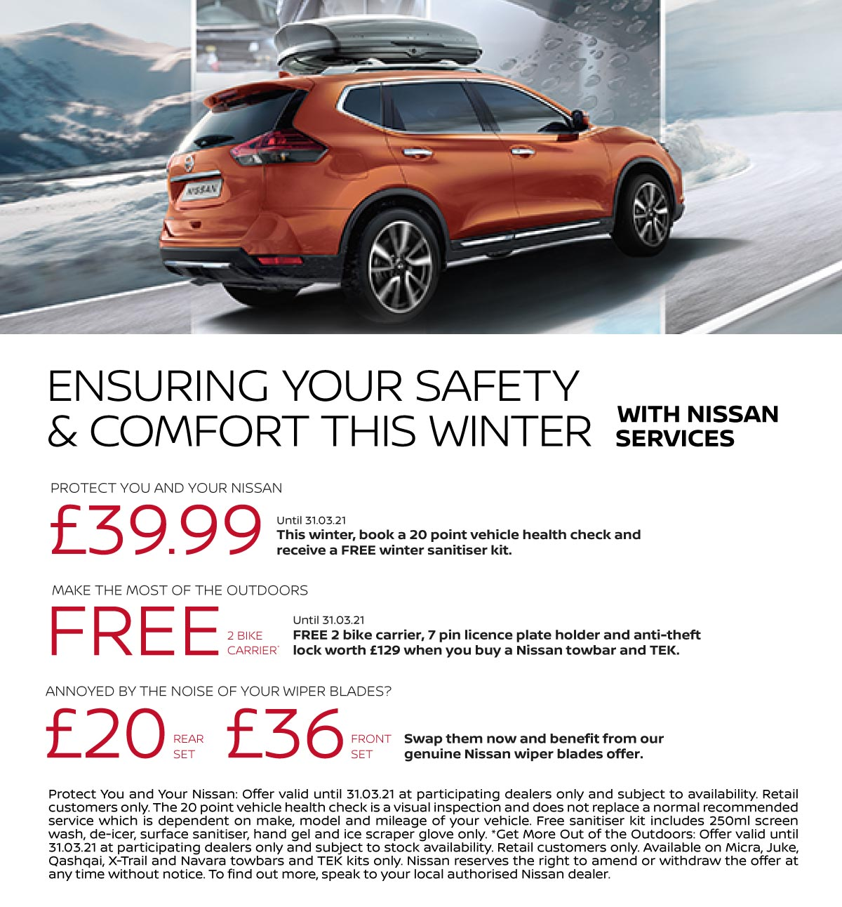 Nissan Winter Services