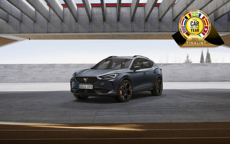 The CUPRA Formentor is Shortlisted for European Car of the Year 2021