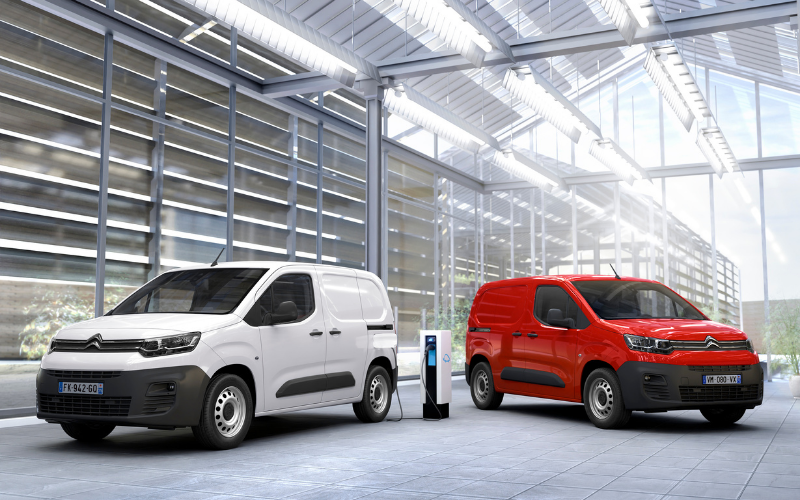 New E-Berlingo to Join Citroen's Van Range
