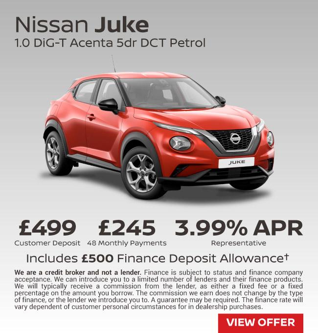 New Nissan Juke Cars For Sale New Nissan Juke Deals Bristol Street Motors
