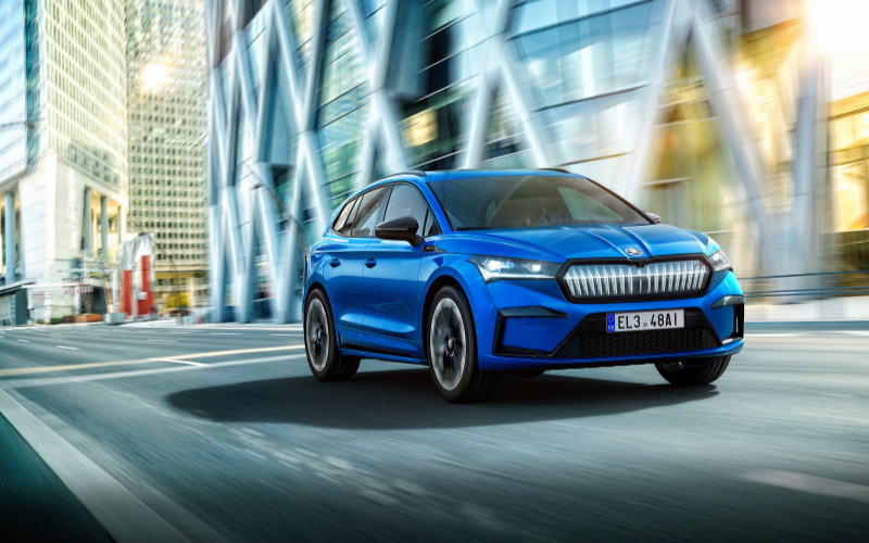 SPORTLINE Model Added to SKODA ENYAQ iV Range
