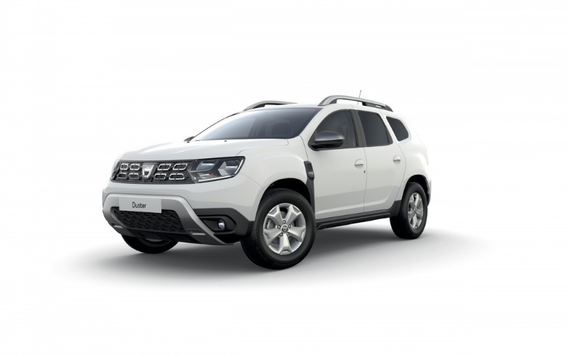 Dacia Converts New Duster for Commercial Use
