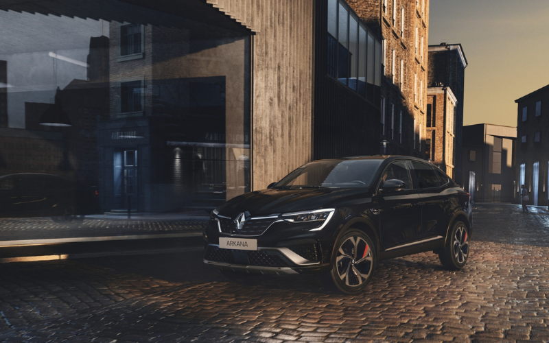 All-New Renault Arkana Receives 5-Star Safety Rating