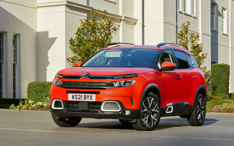 CO2 Emissions Reduced for Citroen C5 Aircross