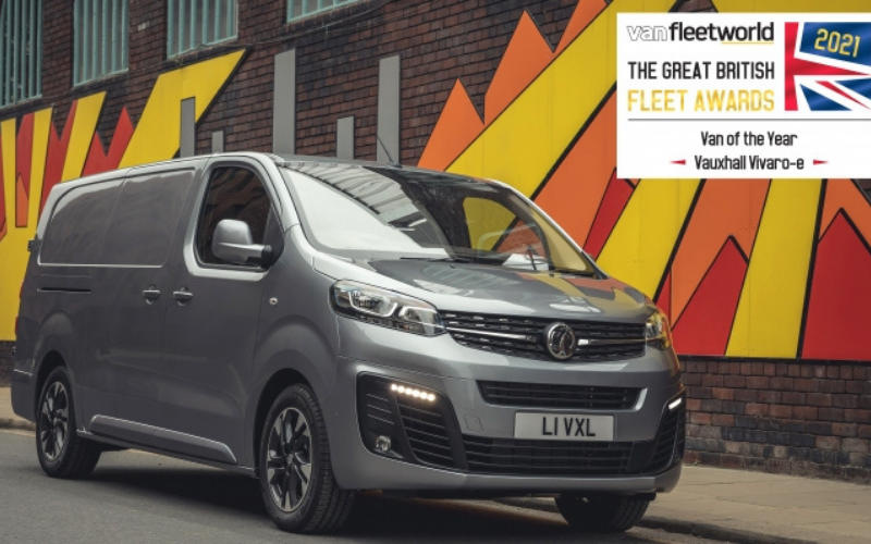 Vauxhall Vivaro-e and Corsa Crowned Winners at the 2021 Fleet Awards