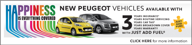 Peugeot Just Add Fuel