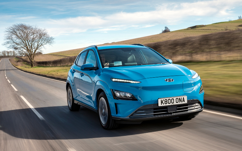 Hyundai KONA Electric Has Longest Range Of Any Grant-Eligible Plug-In Vehicle