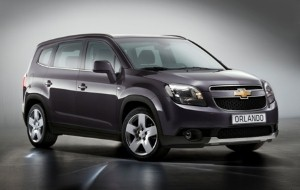 Chevrolet to release Orlando SUV in Europe next year.