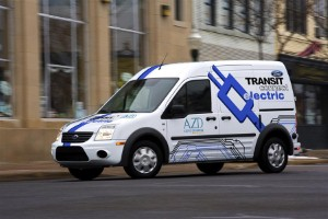 Ford to debut new Transit Connect Electric