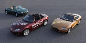 MX-5 breaks production records