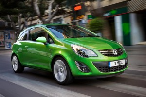 Does the Vauxhall Corsa handle rough roads well?