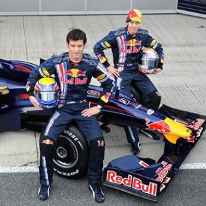 Sebastien Vettel and Mark Webber are powered through the F1 by Renault engines.