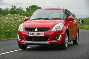 The new Suzuki Swift 4x4 goes on sale this month