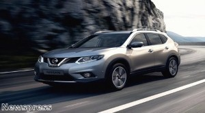 Nissan X-Trail makes its mark on Frankfurt