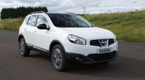 Nissan Qashqai claims award for top used SUV