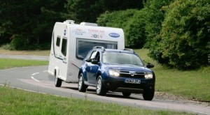 Caravan Club rewards Dacia Duster