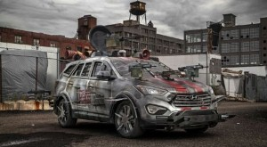 Hyundai Santa Fe zombie-proof car to be star attraction at New York comic con