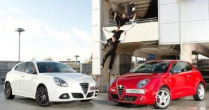 Parkour athlete gives Alfa Romeo's DNA system the run around
