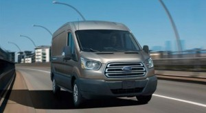 Ford boasts the virtues of new Transit