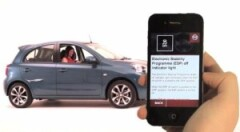Nissan app puts Micra manual just a touch away