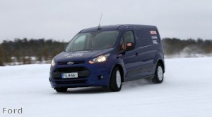 Ford Transit and Transit Connect pick up two Arctic Van Test awards