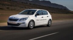 Peugeot 308 sets fuel economy benchmark